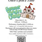 VCHS Theatre Camp July 22 – 27!