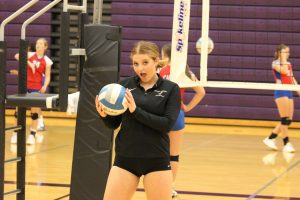 Volleyball Senior Night Photos