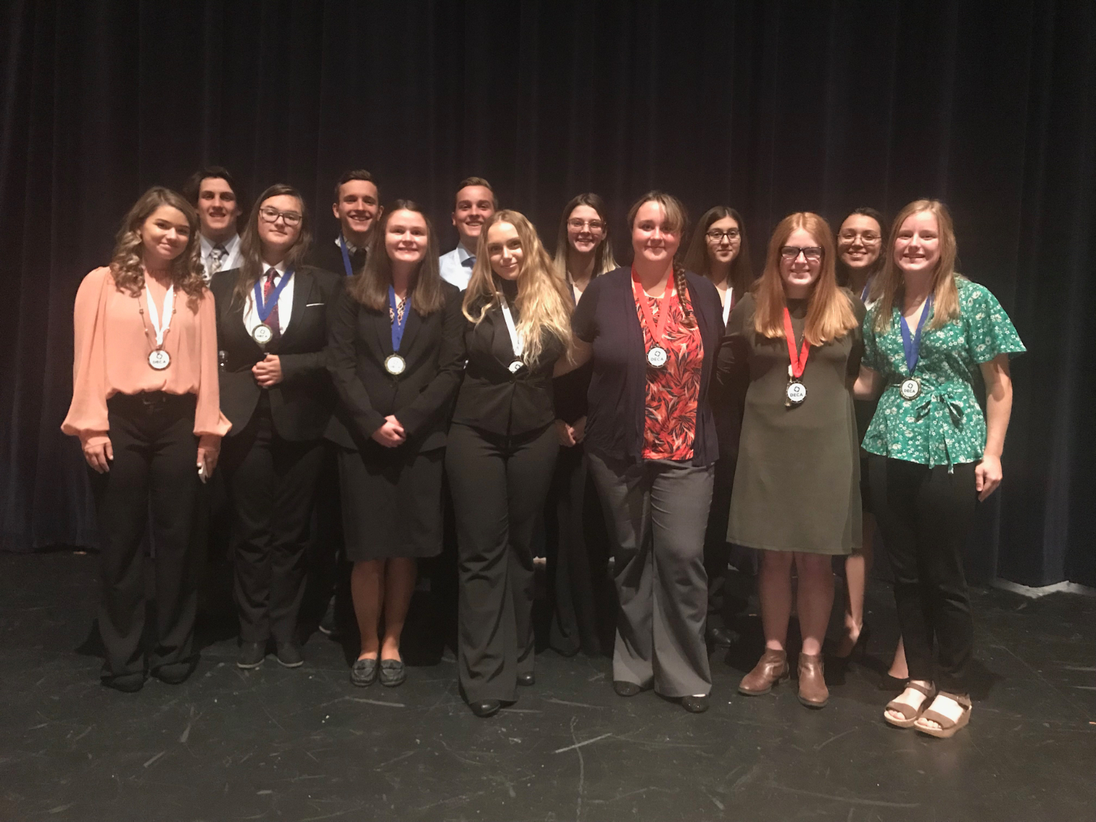 DECA Qualifies 13 For State