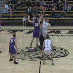 Boys Varsity Basketball falls to Andover Central 59 – 46