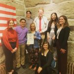 VCHS Theatre Student Travel to Topeka to Advocate for the Arts