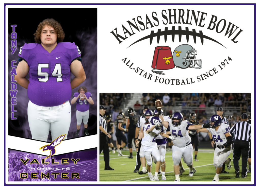 Caldwell to Represent Hornets in Kansas Shrine Bowl