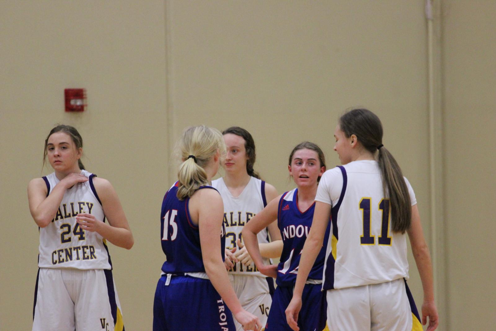 Girls Basketball vs. Andover February 23rd