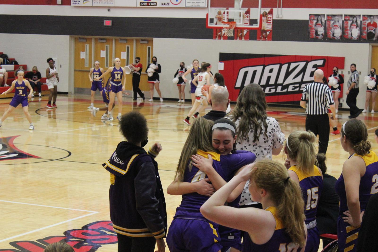 Girls Basketball Post Season in Goddard and Maize