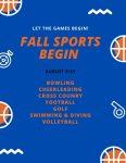 Fall Sports Tryouts Begin