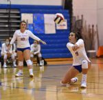 Girls Varsity Volleyball Clip the Falcons