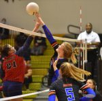 Girls Volleyball Fight Hard Against Lake Brantley in District Semifinal
