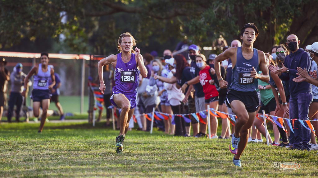 Boys Cross Country Takes Third in the Metro West Championship