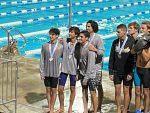 Boys Swimming Takes Eighth in the 200yd Freestyle Relay at State