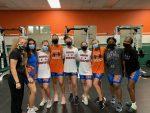 Girls Weightlifting Defeats Jones