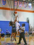 Girls Varsity Basketball Overthrow Olympia
