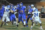 Football Play Tough Against Apopka to End Season
