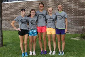Girls CC 300 mile club
