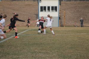 Thornapple-Kellogg High School Varsity Lady Trojans beat Hastings High School 7-1