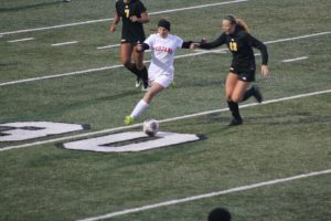 Thornapple Kellogg Varsity Ladies beat Hamilton High School 2-1