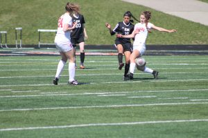 Thornapple Kellogg High School Varsity Ladies Beat East Kentwood High School 1-0