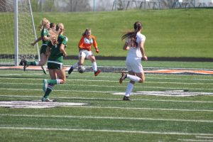 Thornapple Kellogg High School Varsity Ladies Beat Wayland High School 2-0