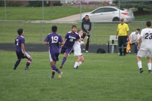 Thornapple Kellogg High School Varsity Soccer Falls To Wyoming High School 2-1