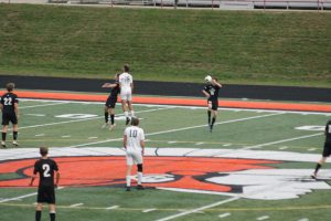 Thornapple Kellogg High School Varsity Boys Soccer Beat Wayland High School 1-0