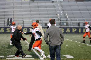 Varsity Football vs EGR – 10/7/18