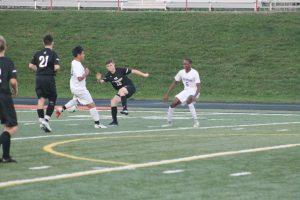 Thornapple Kellogg High School Varsity Boys Soccer Beat Wyoming High School 3-1