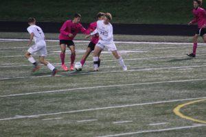 Thornapple Kellogg High School Varsity Boys Soccer Beat Wayland High School 4-1