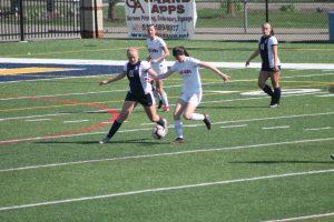 Thornapple Kellogg High School Varsity Ladies Soccer Beat Grand Ledge High School 3-1