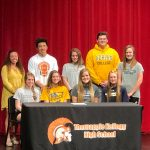 10 Trojan Athletes Continue Athletic Careers at the Next Level