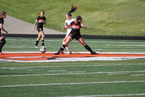Thornapple Kellogg High School Lady Varsity Soccer Beat Forest Hills Eastern High School 2-0