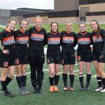 Girls Varsity Soccer honors seniors in their last regular season game