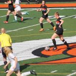Thornapple Kellogg High School Lady Varsity Soccer Beats Hastings High School 2-0 District Game 1
