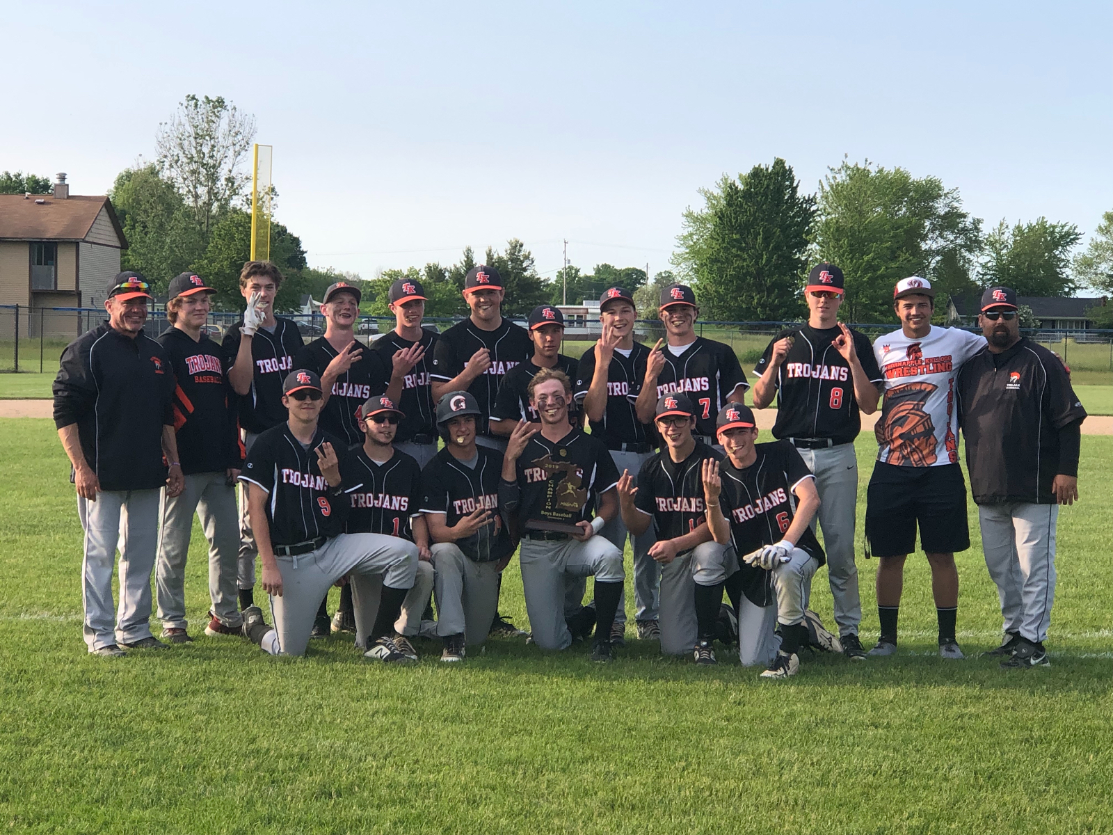 TK Baseball 2019 District Champs!!!