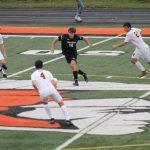 Thornapple Kellogg High School Varsity Boys Soccer Beat East Grand Rapids High School 2-1