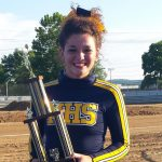 Senior Cheerleader Madison McGuire Named Best In County