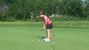 Girls Golf 1st Practice 2014