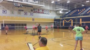 Volleyball 2014 – First Practice