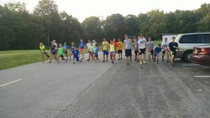 Cross Country 2014 – First Practice