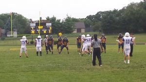 Football Scrimmage vs Greenfield Central – 2014