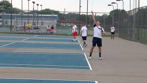 Boys Tennis vs Owen Valley