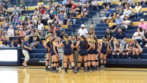 Volleyball vs Monrovia