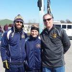 Maddie Vauters competes in her first CC State meet