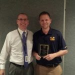 Coach AJ McAdams wins Conference Award!