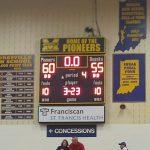 Mooresville High School Boys Varsity Basketball beat Columbus North 60-55