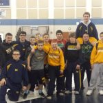 Mooresville High School Boys Varsity Wrestling finishes 2nd place
