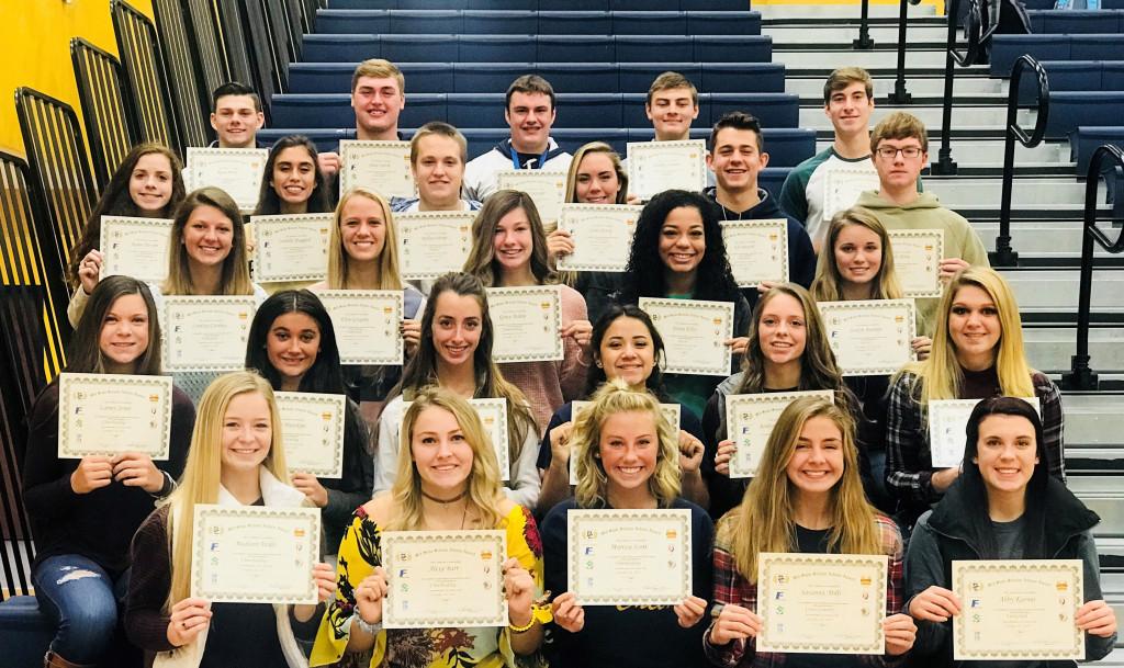 2017 Mid-State Scholar Athletes