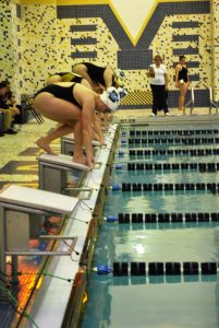 Lady Pioneers Swimming vs. Indian Creek  11/27