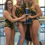 Girls Varsity Swimming and Diving takes 2nd at the Mooresville Swim Invitational