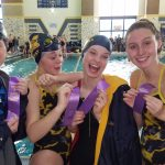 Girls Varsity sets new school point record at Mid State Conference