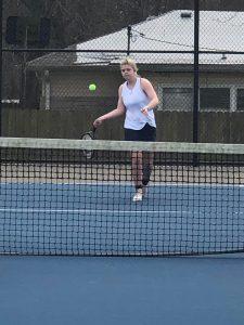 Lady Pioneers Tennis vs. Whiteland/Plainfield 4/6/19