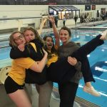 Girls Swimming and Diving Continues Unbeaten and break another record